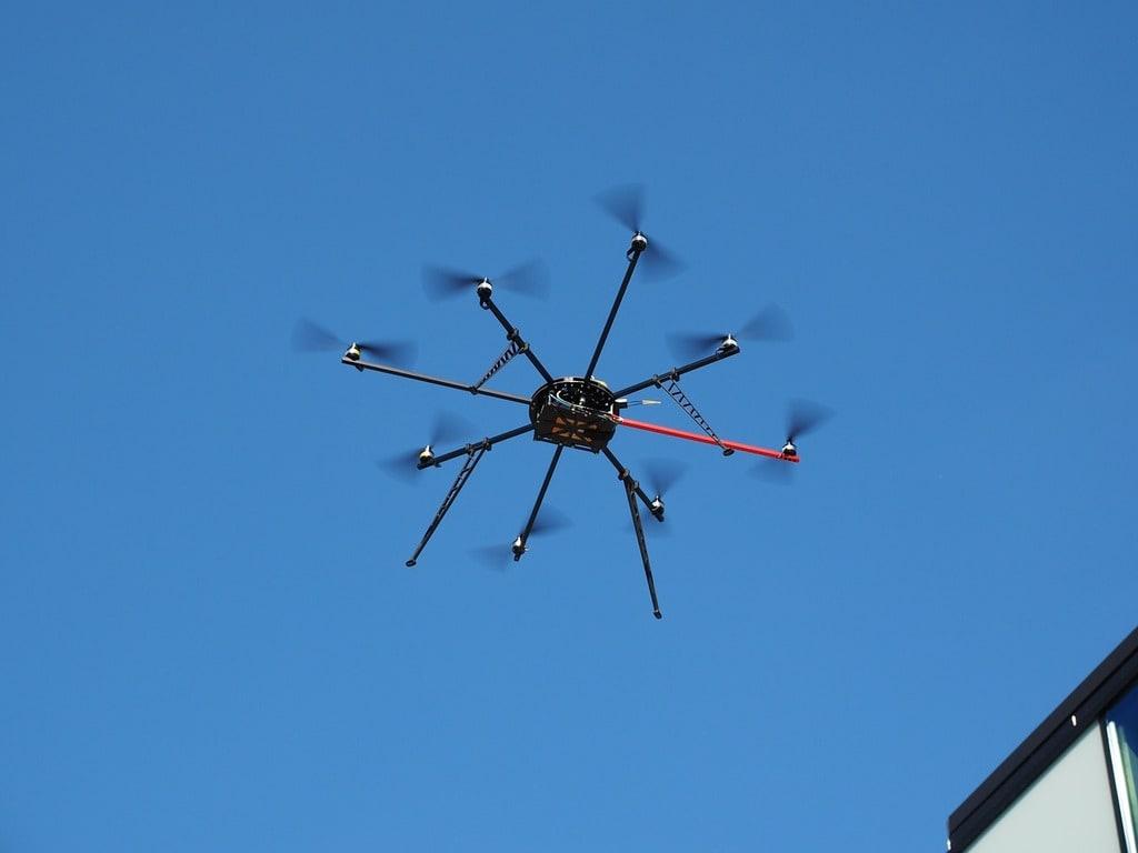 Le drone pour prestations techniques professionnelles
